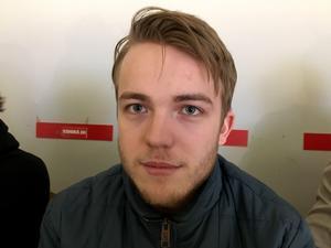 Emil Berglund, 25, hockeyspelare i Timrå IK