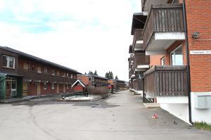 2010 var området vid Toppstigen slitet och stort behov av renovering.