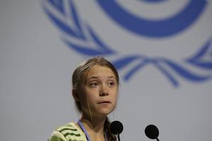 Greta är säkert också besviken över Madridmötet. Foto: AP