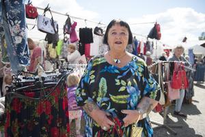 Marianne Affify besökte Lögdödagen för första gången.