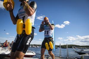 Vinnarlaget i herrklassen, lag Perma, bestod av Per Sydner och Mattias Isberg från Gävle.