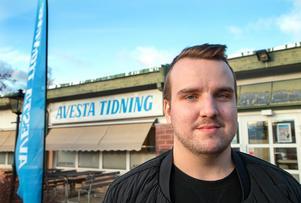 Martin Wik lämnar nu Avesta Tidning för ett nytt uppdrag på SVT i Örebro.