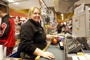 Maria Eliasson, Konsum Storlien, berättar att antalet norska kunder ökat stort på senare tid. Det syns inte minst under vardagarna.