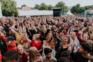 Förra året besökte många Cityfestivalen i Västerås.
