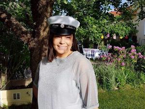 Hanna gick på Grillska gymnasiet och tog studenten förra året.Foto: Privat