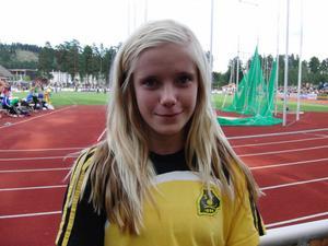 ... och Louise Österberg får sikta in sig på 1,73 i kommande höjdhoppstävling.