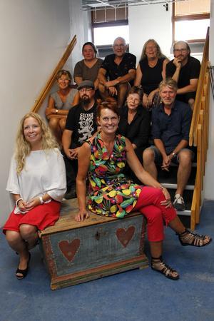 Dramapedagog Karin Brorsdotter Larsson, Ljusdals kommun (till vänster) ska jobba med gestaltande historia, och Ljusdalsbygdens museums pedagog Ulrika Wängman finns givetvis med i planeringen.