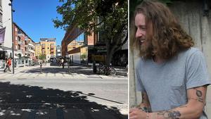 Nisse Hallberg uppskattar Västerås uteliv.