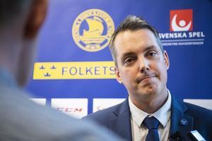 Tomas Montén förbundskapten, J20-landslaget. Foto: Jesper Zerman / BILDBYRÅN