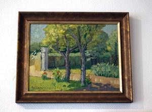 Brita Nordencreutz, född 1899, är den äldsta representerade medlemmen i utställningen.
