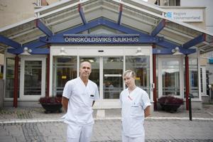 Ortopederna vid Örnsköldsviks sjukhus hyllas av den välopererade insändarskribenten.