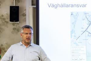 Jan Enbom, Trafikverkets projektledare för Genomfart Ljusdal.