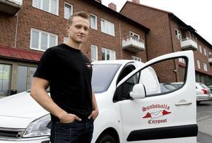Joakim Engdahl är Cityposts tredje ägare och han vill fortsätta att utveckla företaget.