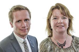Roger Hedlund, Gävle, och Christina Östberg, Söderhamn, är riksdagsledamöter och står på andra och tredje plats på Sverigedemokraterna i Gävleborgs lista till höstens riksdagsval.