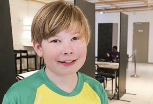 Elias Eriksson Wennberg, 12 från Ljusdal.