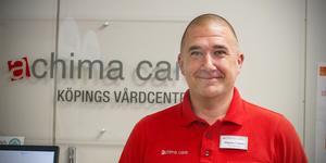 Magnus Loman, verksamhetschef på Achima Care i Köping.