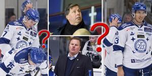 Leif Carlsson sitter säkert, det meddelar Johansson i intervjun med Hockeypuls. Foto: Tommy Pedersen//TT.