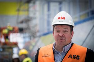 Magnus Ström blev platschef för ABB i Ludvika i början av januari.Foto: Kim Norman