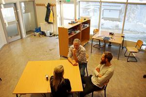Studieverkstaden på Skogstorpskolan har en egen ingång.