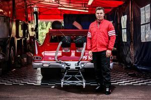 Daniel Hållestam team, Hållestam motorsport, består av fyra personer.
