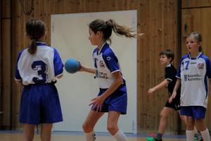 Kramfors-Alliansen var på plats med flera lag, både flickor och pojkar.