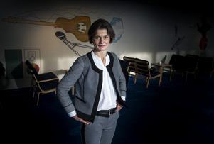 Under fem år har Helena Wessman varit chef för Berwaldhallen och de två ensemblerna Sveriges Radios symfoniorkester och Radiokören. Nu går hon vidare och blir rektor för Kungliga Musikhögskolan.Foto: Pontus Lundahl / TT