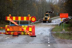 Bron har varit avstängd sedan den 18 september.