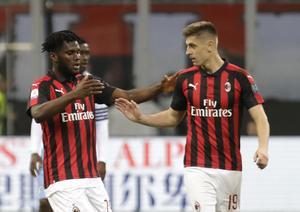 Om Joakim Forslund får drömma till för en sekund så är fotbollklubben Milan en förening som han gärna styr över. Foto: Luca Bruno/AP