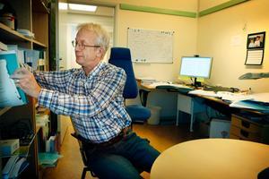 Länsstyrelsen samlar information från olika håll och samarbetar med andra myndigheter och skogsägarföreningar, berättar Staffan Edler som är stabschef på länsstyrelsen i Jämtland. Foto: Arkiv