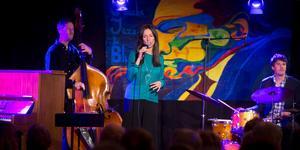 Rigmor Gustafsson Kvartett gästade Öbacka Jazzklubb under onsdagskvällen.