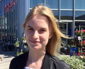 Maria Nygren, 16 år, studerande, Hällesjö
