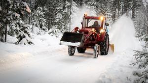 Den här bilden behöver knappast någon närmare beskrivning denna snörika januari 2019. Foto: Kenneth Friberg