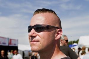 Thomas Thögersen, 40 år.Hur lång tid tar det att fixa till frisyren?