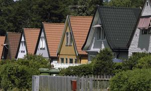 I flera svenska län ligger snittpriset för en villa på cirka 1,5 miljoner kronor. I storstadsregionerna får man i genomsnitt betala två, tre eller till och med fyra gånger så mycket. Arkivbild.