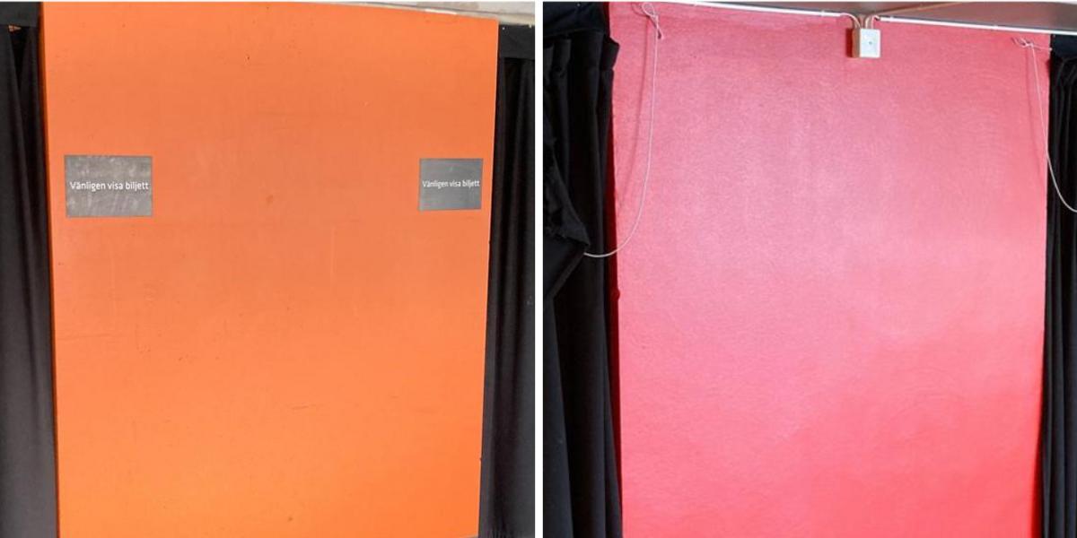 Orange blir Kempis-rött när Modo målar om: