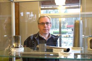 Pål Åström, platschef för Outokumpu i Avesta, säger att bolaget har viss export stålexport till USA, men att det inte är företagets största marknad.