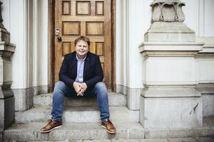Jörn Lier Horst har också skrivit en ny bok tillsammans med kollegan Thomas Enger.Foto: Erik Simander / TT