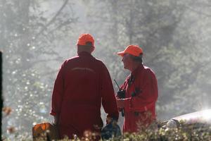 Tidigt på tisdagsmorgonen fick brandmännen i Malung rycka ut till  en skogsbrand i ett område nära Sillerö.
