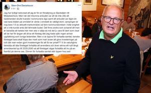 Under onsdagen postade kommunalrådet ett offentligt inlägg på Facebook där han gav sin bild av ärendet, men också en bild av att andra köpare kan finnas i kulisserna.
