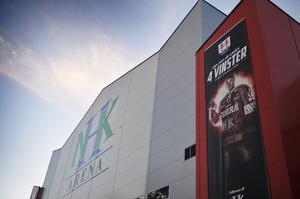 NHK Arena – en spelplats för SHL-hockey även till hösten? Snart får vi veta.