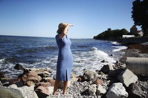 Kristdemokraternas partiledare Ebba Busch Thor (KD) under Kristdemokraternas dag på politikerveckan i Almedalen. Foto: Adam Ihse / TT