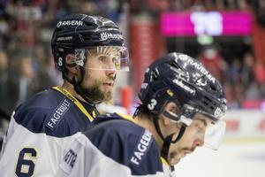 HV:s Christoffer Persson och Markus Lauridsen åkte på sin första förlust efter tränarbytet.