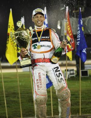 2013 körde Jonsson hem sitt sjätte individuella SM-guld.
