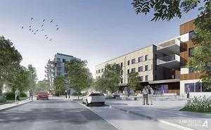 SD är inte emot planerat äldreboende på Södra Källtorp (Wenströmska) Illustration: 4 Arkitektur & form