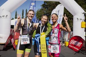 Ulrika Etnell, Susanna Rehn och Cecilia Gyllander. Foto: Mickan Palmqvist
