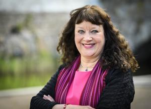 Karin Perers, kyrkomötets ordförande.