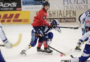 Hans Andersson var drivande i det offensiva spelet, men även han hade svårt att hitta luckor i Villas kompakta försvar.