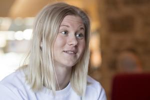 Maja Dahlqvist ser fram emot en ny säsong – och har ett tydligt mål. Bild: Henrik Montgomery/TT.