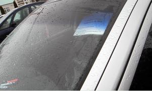 Är detta parkeringstillstånd väl avläsligt eller inte? Polisen ska nu avgöra.