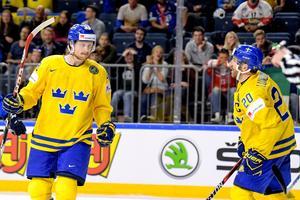 Carl Klingberg gjorde Tre Kronors enda mål mot Tjeckien. Bild: Joel Marklund/Bildbyrån